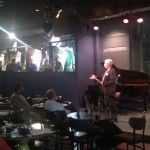 Executive Director Warren Adams-Leavitt welcomes everyone to The Blue Room